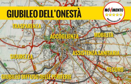"""""""Giubileo dell'Onestà"""": ecco il piano M5S presentato al Vaticano!"""