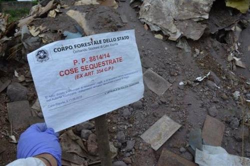Ispezione commissione rifiuti alla discarica più grande d'Europa
