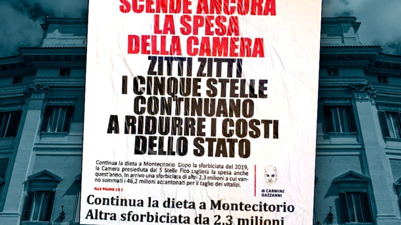 Costi politica: Da sforbiciata a bilancio Montecitorio risparmio di quasi 50 milioni
